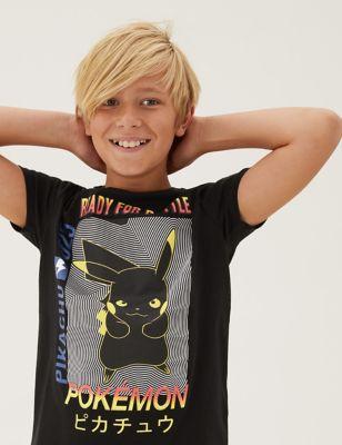 Pure Cotton Pokemon™ T-Shirt (6-16 Yrs)