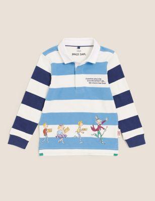 Roald Dahl™ Striped Rugby Shirt (2-7 Yrs)