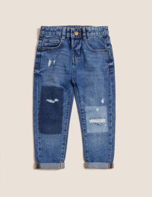 Regular Pure Cotton Jeans (2-7 Yrs)