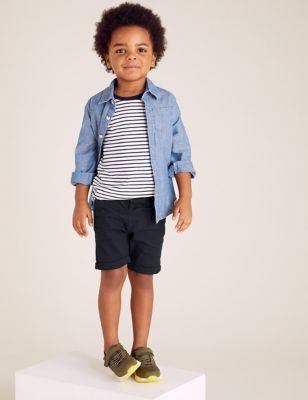 Cotton Chino Shorts (2-7 Yrs)