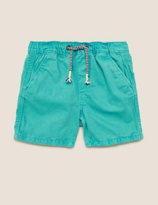 Pure Cotton Rugby Shorts (6-16 Yrs)