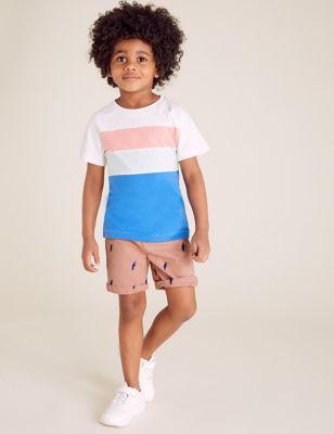 Pure Cotton Toucan Chino Shorts (2-7 Yrs)