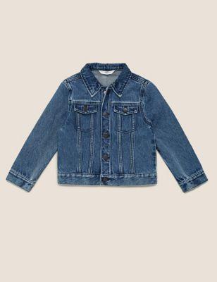 Pure Cotton Western Denim Jacket (2-7 Yrs)