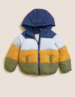 Stormwear™ Hooded Padded Coat (2-7 Yrs)