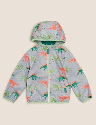Stormwear™ Dinosaur Hooded Windbreaker (2-7 Yrs)