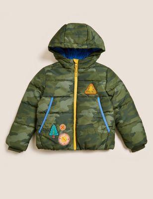 Stormwear™ Camouflage Padded Coat (2-7 Yrs)