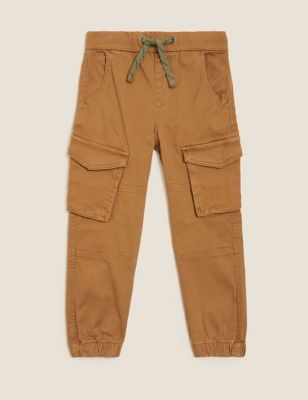 Cotton Cargo Trousers (2-7 Yrs)