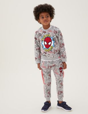 Cotton Spider-Man™ Joggers (2-7 Yrs)