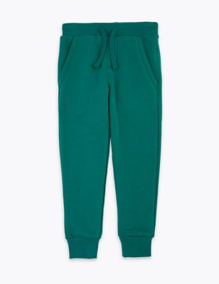 Cotton Draw Cord Joggers (3 Mths-7 Yrs)