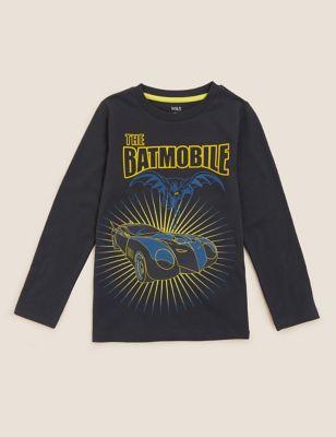 Pure Cotton Batman™ Batmobile Top (2-7 Yrs)
