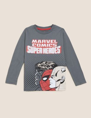 Pure Cotton Marvel™ Top (2-7 Yrs)