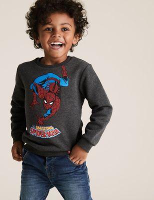 Cotton Marvel Spider-Man™ Sweatshirt (2-7 Yrs)