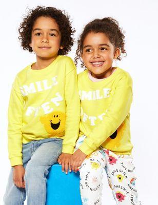 Cotton Mr Happy™ Smile Often Sweatshirt (2-7 Yrs)