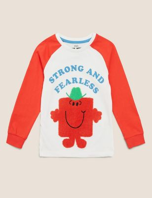 Pure Cotton Mr Strong™ Top (2-7 Yrs)