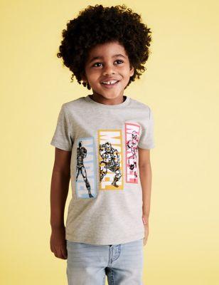 Cotton Avengers™ T-Shirt (2-7 Yrs)