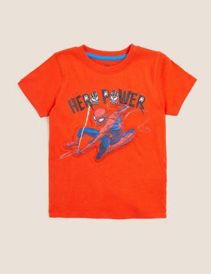 Pure Cotton Spider-Man™ 3D T-Shirt (2-7 Yrs)