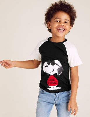 Pure Cotton Snoopy™ T-Shirt (2-7 Yrs)