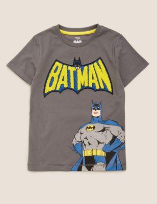 Pure Cotton Batman™ T-Shirt (2-7 Yrs)