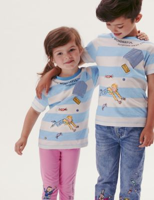 Roald Dahl™ Pure Cotton T-Shirt (2-7 yrs)