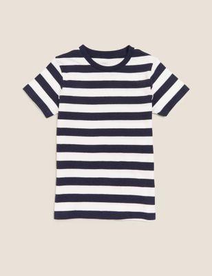 Organic Cotton Striped T-Shirt (2-7 Yrs)