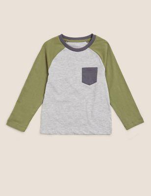 Cotton Raglan Sleeve Top (2-7 Yrs)