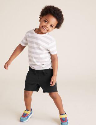 Cotton Plain Shorts (2-7 Yrs)