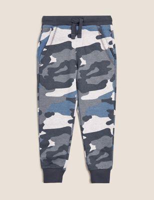 Organic Cotton Camouflage Joggers (2-7 Yrs)