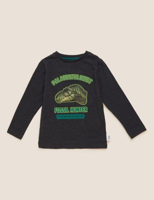 NHM™ Cotton Dinosaur Top (2-12 Yrs)