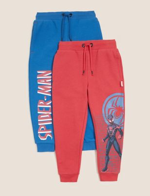 2pk Cotton Spider-Man™ Joggers (2-7 Yrs)