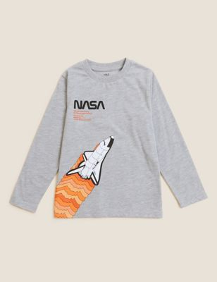 Cotton NASA™ Top (2-7 Yrs)