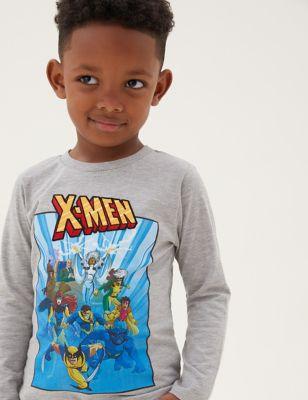 Cotton X-Men™ Top (2-7 Yrs)
