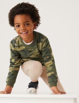 Organic Cotton Camouflage Sweatshirt (2-7 Yrs)