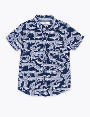 Crocodile Shirt (2-7 Yrs)