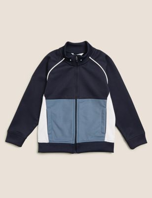 Cotton Zip Through Sweatshirt (2-7 Yrs)