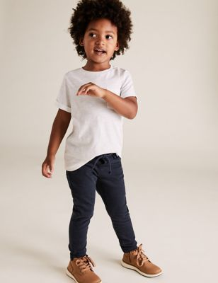 Skinny Leg Comfort Stretch Denim Jeans (2-7 Yrs)