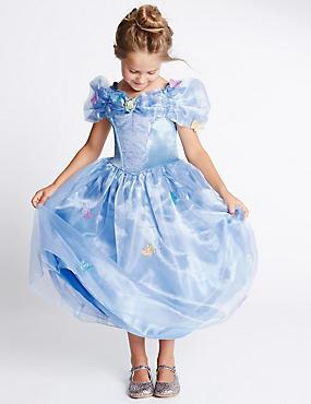 Kids' Disney Princess™ Cinderella Dress, BLUE MIX, catlanding