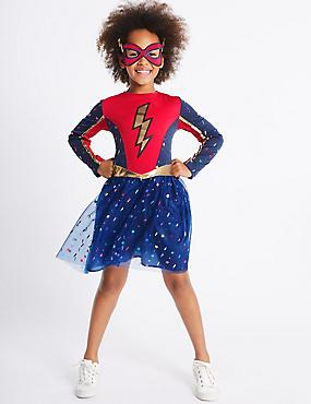 Kids' Heroic Fancy Dress Up, NAVY MIX, catlanding