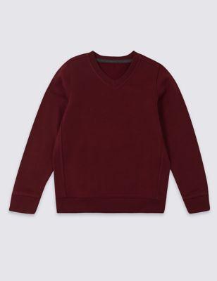 Unisex V Neck Sweatshirt (2-16 Yrs)