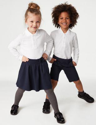 Unisex Long Sleeve Polo Shirt (2-16 Yrs)