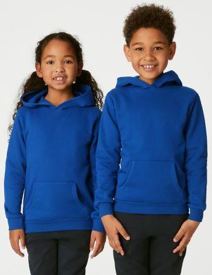 Unisex Cotton Hooded Sweatshirt (2-18 Yrs)