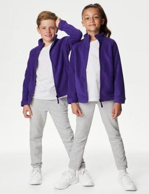 Unisex Zip Fleece (2-16 Yrs)