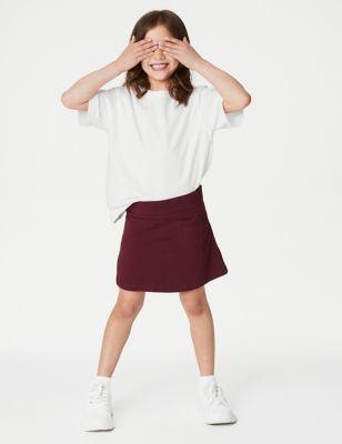 Girls' Cotton with Stretch Sports Skorts (2-16 Yrs)