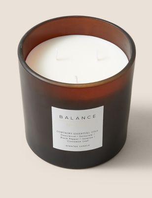 Balance 3 Wick Candle