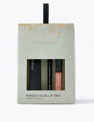Perfect Nude Lip Trio 28% Saving