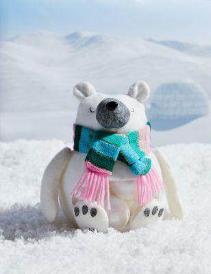 Festive Polar Bear Bath Fizzer Gift Set