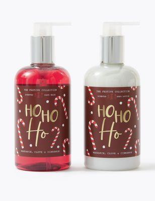 Ho Ho Ho Hand Wash & Lotion Duo