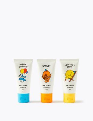 Mr Men™ Shower Gel Trio