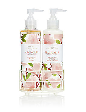 Magnolia Hand Wash & Lotion Set, , catlanding