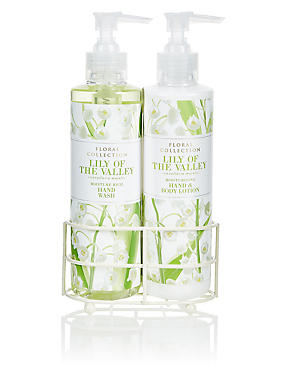 Lily Hand Wash & Lotion Set, , catlanding