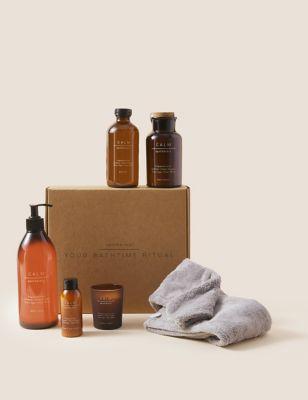 Calm Bath Time Ritual Gift Set